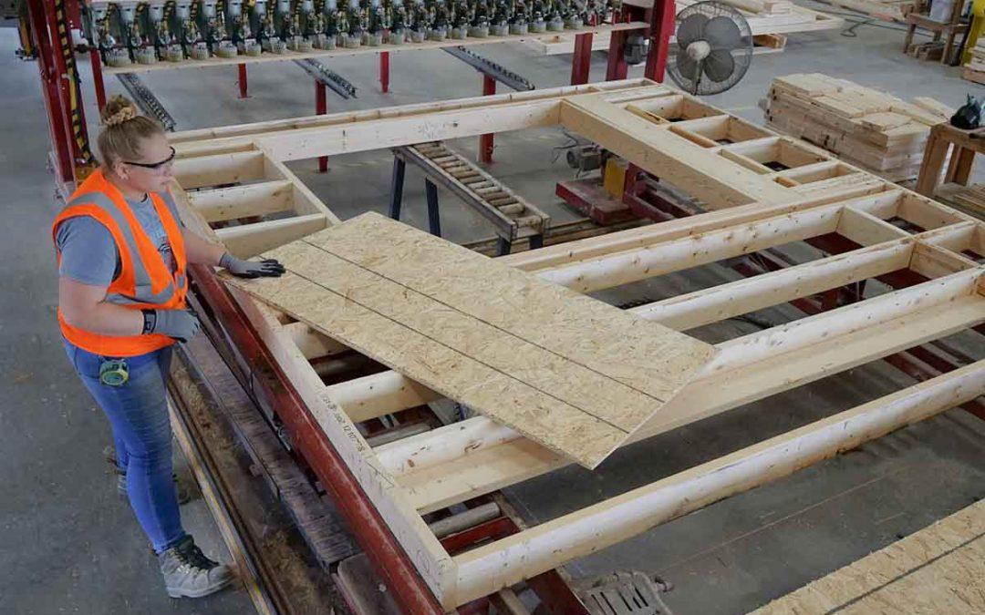EdgeBuilder Materials: Wall Panels & Wood Foundations